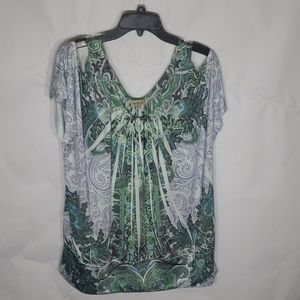 Very Silky & very Stretchy One World Blouse